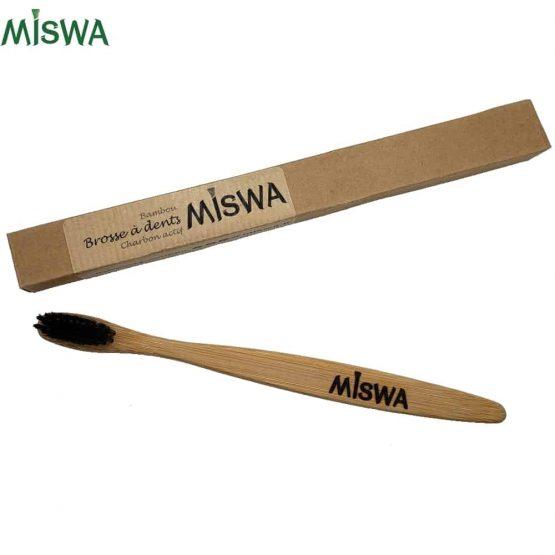 Brosse à dents en bambou Miswa