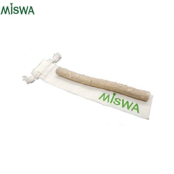 Siwak et sac en coton bio Miswa