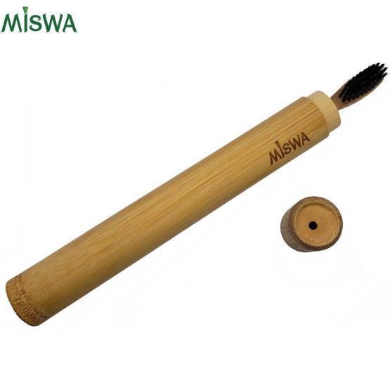 Brosse à dents et son étui en bambou MISWA