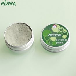 dentifrice solide Crystal Miswa