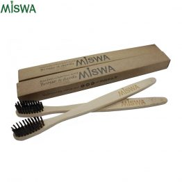 Duo brosses à dents bambou Miswa