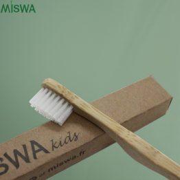 brosse à dents bambou KIDS Miswa détails